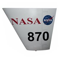 NASA MQ-9 Reaper Custom Airplane Tail Flash