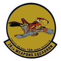 26 WPS MQ-1 Predator Custom Airplane Tail Flash