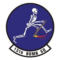 13 BS B-1B Lancer Custom Airplane Tail Flash