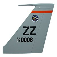 961 AACS E-3 Sentry Custom Airplane Tail Flash