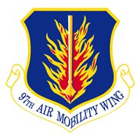 97 AMW C-17 Airplane Tail Flash