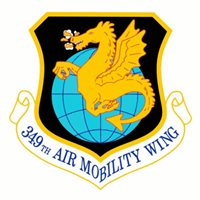 349 AMW C-17 Airplane Tail Flash