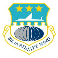 315 AW C-17 Airplane Tail Flash