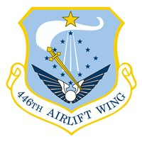 446 AW C-17 Airplane Tail Flash