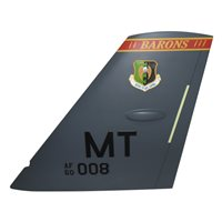 23 BS B-52H Stratofortress Custom Airplane Tail Flash