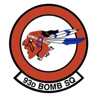 93 BS B-52H Stratofortress Custom Airplane Tail Flash