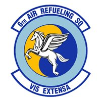 6 ARS KC-10 Airplane Tail Flash