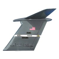 60 AMW C-5B Custom Airplane Tail Flash