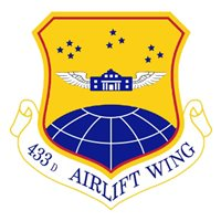 433 AW C-5B Custom Airplane Tail Flash