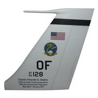 338 CTS RC-135 Airplane Tail Flash