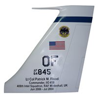 488 IS RC-135 Airplane Tail Flash