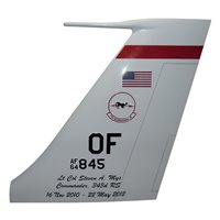 343 RS RC-135 Airplane Tail Flash
