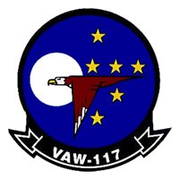 VAW-117 E-2C Hawkeye Custom Airplane Tail Flash