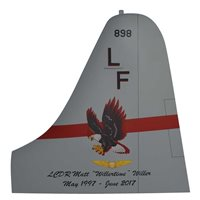 VP-16 P-3 Airplane Tail Flash