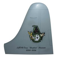 VPU-2 P-3 Airplane Tail Flash