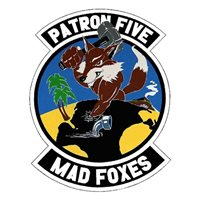 VP-5 P-3 Airplane Tail Flash