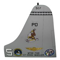 VP-9 P-3 Airplane Tail Flash