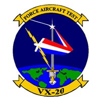 VX-20 P-3 Airplane Tail Flash