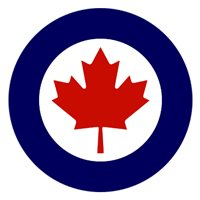 Royal Canadian Air Force P-3 Airplane Tail Flash