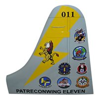 CPRW-11 P-3 Airplane Tail Flash