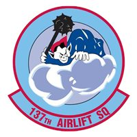 137 AS C-5B Custom Airplane Tail Flash