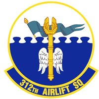 312 AS C-5B Custom Airplane Tail Flash