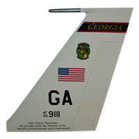12 ACCS E-8C JSTARS Custom Airplane Tail Flash