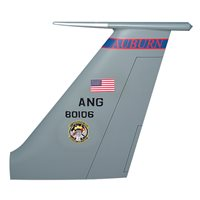 106 ARS KC-135 Airplane Tail Flash
