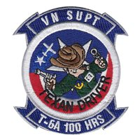 Vance AFB T-6A Texan II Driver 100 Hours Patch