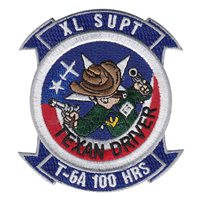 Laughlin T-6A Texan II Driver 100 Hours Patch