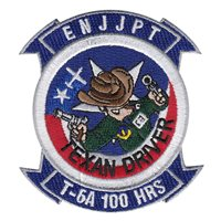ENJJPT T-6A Texan II Driver 100 Hours Patch