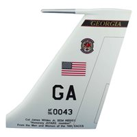 16 EACCS E-8C JSTARS Custom Airplane Tail Flash