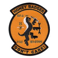 412 AMXS Honey Badger Patch