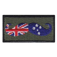 Australian Mustache Pencil Patch