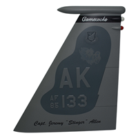 19 FS F-15 Airplane Tail Flash