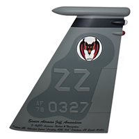 44 FS F-15C Eagle Custom Airplane Tail Flash