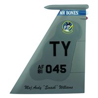 95 FS F-15C Eagle Custom Airplane Tail Flash