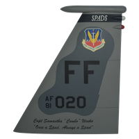 94 FS F-15C Eagle Custom Airplane Tail Flash