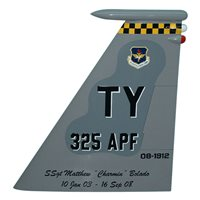 325 APF F-15 Airplane Tail Flash