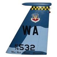65 AGRS F-15C Eagle Custom Airplane Tail Flash