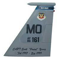 390 FS F-15 Airplane Tail Flash