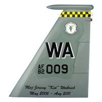 433 WPS F-15 Airplane Tail Flash