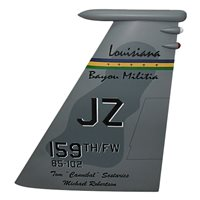 122 FS F-15 Airplane Tail Flash