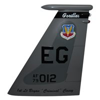 58 FS F-15C Eagle Custom Airplane Tail Flash