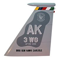 3 WG F-15 Airplane Tail Flash