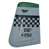 25 FS A-10 Airplane Tail Flash