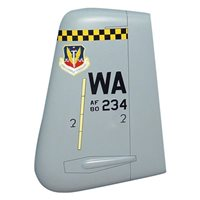 66 WPS A-10 Airplane Tail Flash