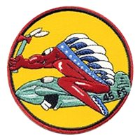 45 FS A-10 Airplane Tail Flash