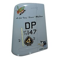 47 FS A-10 Airplane Tail Flash