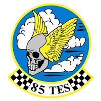 85 TES A-10 Airplane Tail Flash